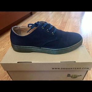 Dr. Martins Gizelle Canvas Oxfords in Navy